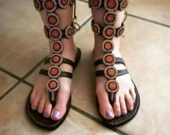 Beaded Sandals like Bohemian