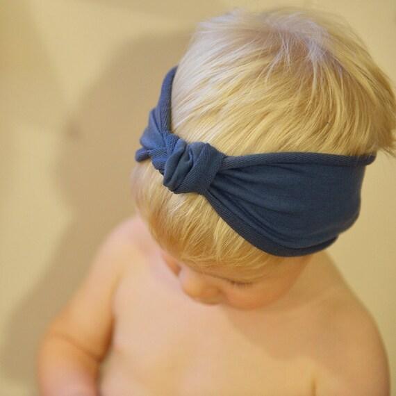 Baby-Knoten Stirnband Kinder-Turban Kleinkind Stirnband