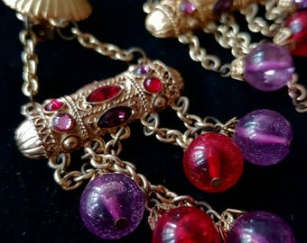 Spectacular red and purple clips 1970 - Spectacular red and purple clips 1970
