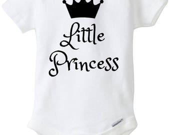 Little Princess Baby Onesie