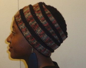 Black Stone Temple, Crochet African Headwrap