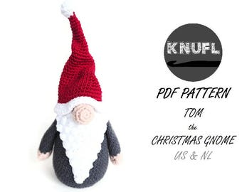 CROCHET PATTERN christmas gnome
