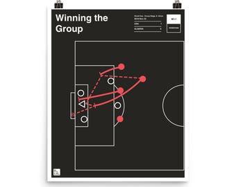 USMNT Soccer Poster: Winning the Group (2010)