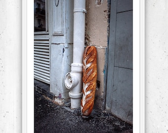 The Baguette, Paris, Unframed Fine Art Photograph