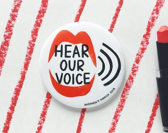 Hear Our Voice - Women's March 2018