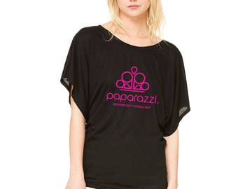 Paparazzi Independent Consultant Dolman Tee| Women's Paparazzi Shirt| Paparazzi Consultant T-shirt|