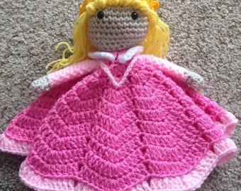 Crochet Aurora blanket /baby blanket/ security blanket