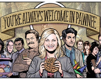 Parks and Rec Tribute Print