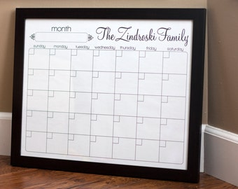 Print Your Own - Family Calendar - Style 1.1