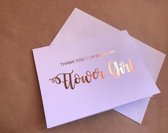 Bridesmaid card | thank you for being my bridesmaid | will you be my | my maid of honour | groomsmen | flower girl | pageboy | best man