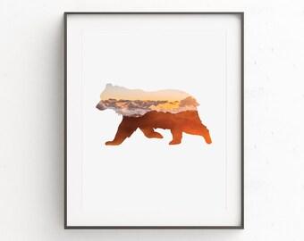 Nursery Wall Art, Kids Wall Art, Animal Prints, Kids Room Art, Nursery Art, Woodland Nursery, Nursery Print, Downloadable Prints, Animal Art