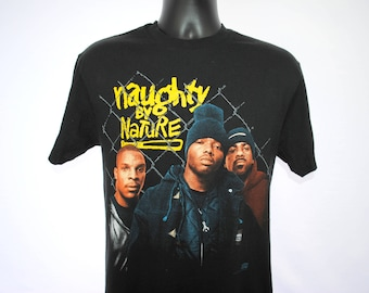 1993 Naughty By Nature Vintage 19 Naughty III Rare Vintage Hip Hop Hooray Era Classic 90's Hip Hop Album Rap Tee Concert Tour T-Shirt