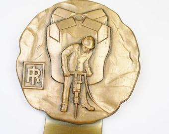Vintage Money Clip Copper money clip * Men Accessory * Miner Gift