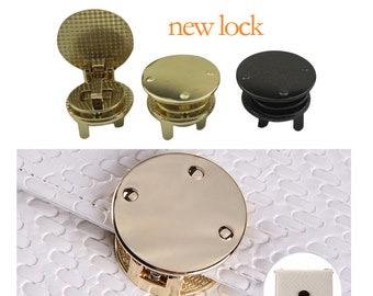 10 pieces new design Invisible bag lock purse lock bag hardware  LC009