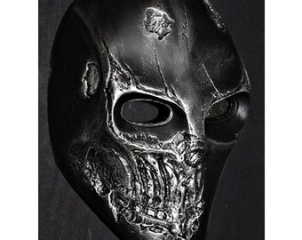 Army of two Airsoft Paintball BB Softair Gun Prop Helmet Salem Costume Cosplay Goggle Mask Maske Masque Black MA300 et