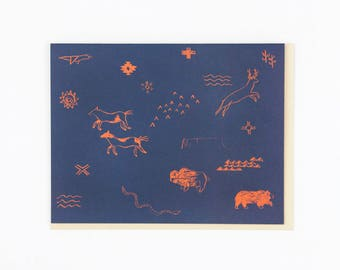 Map Symbols Card