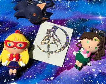 Sailor Moon Holographic Decal