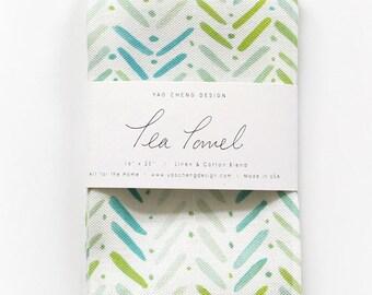 By the Sea - Watercolor Tea Towel