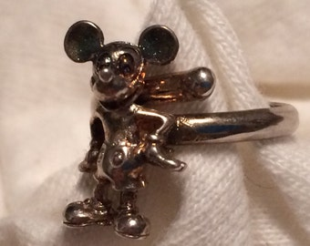 Disney Mickey Mouse Ring - Sterling Silver