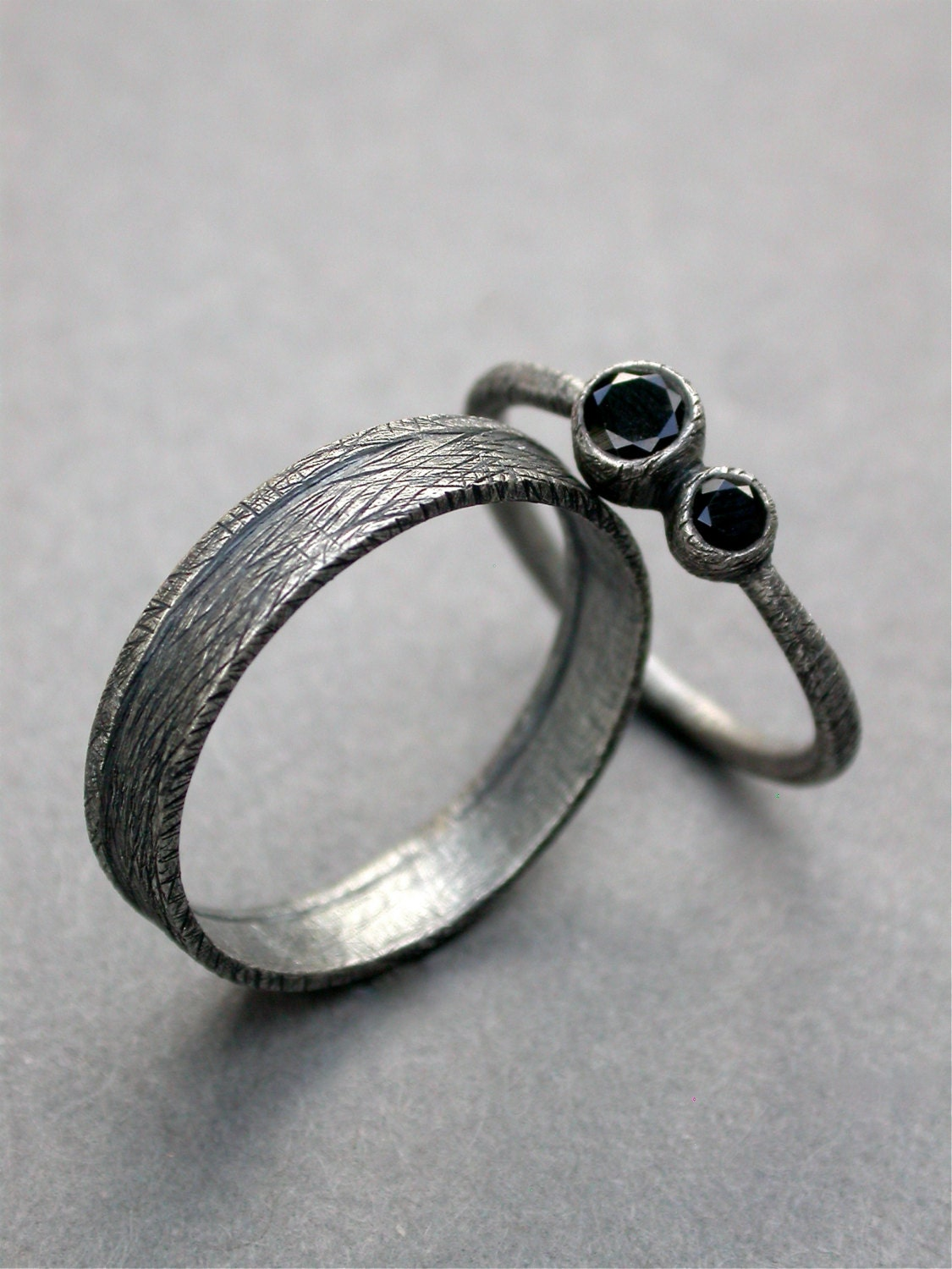engagement ring rings diamond sculpture from hike organic jewelry nature news cg grisez and to