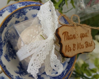 Wedding Favor Thank you Tags / Wooden Tags / Wedding favor / Wedding