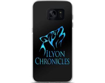 Ilyon Chronicles Blue Wolf Samsung Phone Case