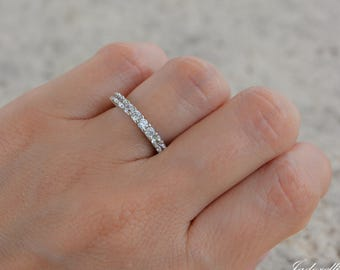 ring with carat bands zirconia products w engagement the radiant d band cut semi eternity cz cubic sparkela