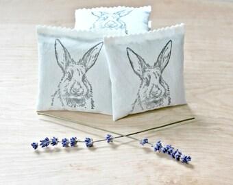 Bunny Baby Shower Favors, Lavender Sachets, Rabbit Party Favors, Spring Baby Shower, Easter Basket Filler