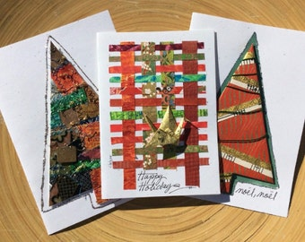 Handmade Greeting Cards for Christmas,Christmas Greetings Wishes,Greeting Merry Christmas,Greeting Cards for Xmas,Christmas Origami Cards