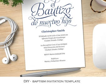 Baptism invitation template idealstalist baptism invitation template stopboris Gallery