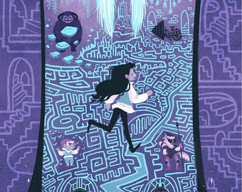 Through the Labyrinth 20x30 inch giant poster