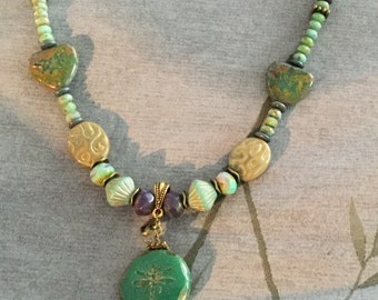 Ready for Spring Beaded Necklace