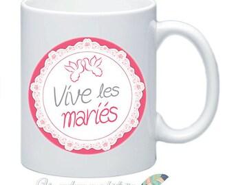 Mug I love you to customize names date message #21