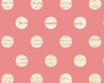 Lost & Found Pink Dot by Jen Allyson for Riley Blake, 1/2 yard