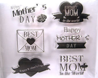 Mothers Day Clear Stamp Set