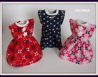 3 x BLYTHE clothes Free shipping