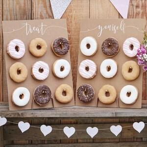 Gönnen Sie Sich Donut Wand, Donut Wände, Kuchen Alternative, Rustikale  Hochzeit Dekor,