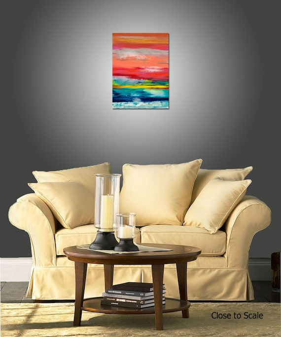 Peripheral Vision Art Painting Original Abstract Painting