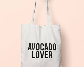 Avocado Lover Tote Bag Long Handles TB0737