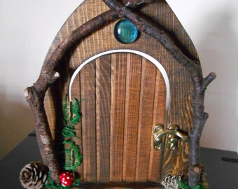 Woodland fairy door