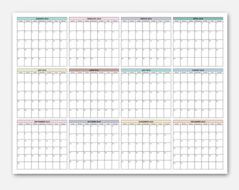 calendars year at a glance
