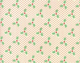 Wellengang Weihnachten von Urban Küken - Holly in rot