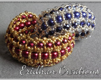 "Beaded bracelet - ""Byzantine"" - tutorial"