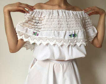Embroidered Sun Blouse