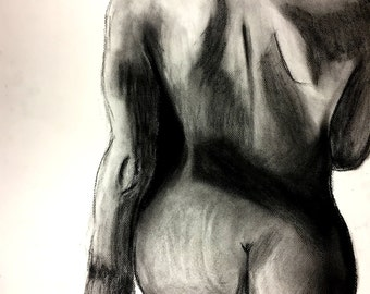 Figure Study Drawing