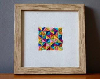 GLAZIG#01 - Glazig embroidery - Summer colors