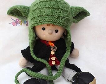 Knit yoda hat etsy knitting pattern wrinkle yoda baby hat pdf dt1010fo