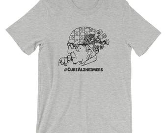 CureAlzheimers - Alzheimers Awareness T-Shirt