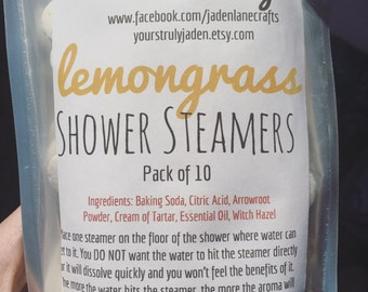 Lemongrass Shower Steamers