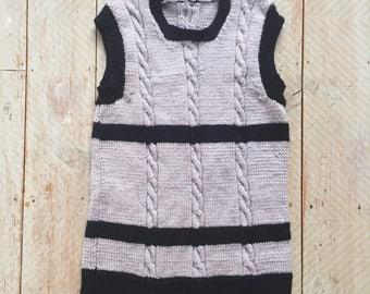 Retro Tank Knit